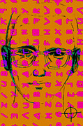 Bay Area Digital Art - Zodiac Killer With Code and SIgn 20130213m80 by Wingsdomain Art and Photography