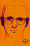 Napa Digital Art Prints - Zodiac Killer With SIgn 20130213m98 Print by Wingsdomain Art and Photography