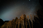 Copyright 2013 By Mike Berenson Framed Prints - Zodiacal Light Meets Winter Milky Way Framed Print by Mike Berenson
