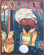 Zoltar Framed Prints - Zoltar Framed Print by Lisa Goldfarb