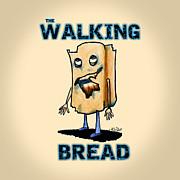 Zombie Bread Print by Kim Niles