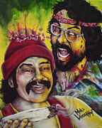 420 Originals - Zombie Cheech and Chong by Michael Vanderhoof