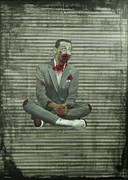 Pee Wee Herman Prints - Zombie Hermans First Blood Print by Jeremy Lindberg