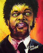 Grindhouse Originals - Zombie Samuel Jackson by Michael Vanderhoof