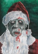 Santa Claus Originals - Zombie Santa by Jeremy Moore