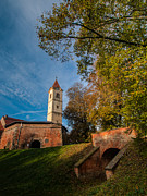 Old Town Photos - Zrinski castle by Davorin Mance
