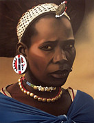 Headdress Originals - Zulu Maiden by Edgar Pretorius
