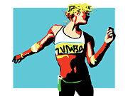 Wendy Butcher Art - Zumba by Wendy Butcher