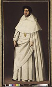 Fray Prints - Zurbaran, Francisco De 1598-1664. Fray Print by Everett