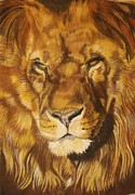 Lion Pastels - Zuri by Ann Marie Chaffin