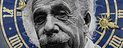 Cosmos Posters - Zytgloggenrichter- Albert Einstein Poster by Simon Kregar