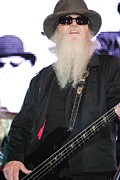Zz Top Posters - ZZ Top - Dusty Hill Poster by Angela Murray