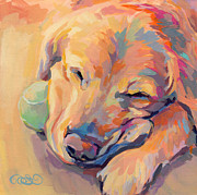 Tennis Painting Originals - Zzzzzz by Kimberly Santini