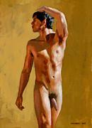 Marcelino Nude Print by Douglas Simonson