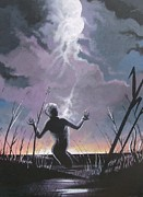Thunder Paintings -    Last Man Standing by Chuck Collins