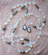 Moon Jewelry -    Set  Moon Sonata  by Olga Bejue