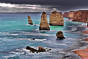 Sandstone Beach Framed Prints -  12 Apostles Framed Print by Blair Stuart