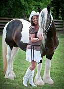 Best Friend Photos -  A Girl and Her Stallion by Terry Kirkland Cook