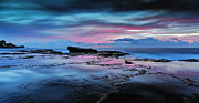 Seascape With Clouds Posters -  A Sea of Desire  Poster by Mark Lucey