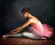 Ballet Art Prints -  Ballerina Print by Yoo Choong Yeul