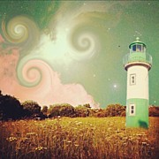 Lighthouse Photos -  Being Crazy  by Casi Wonderland