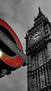 City And Colour Prints -  Big Ben London Print by Phil Clements