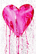 Cherish Prints -  Bleeding Heart Print by Michal Boubin