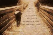 No Children In The World Framed Prints -  Boy - a noise with dirt on it. Framed Print by Joy Gerow