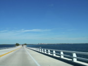 Fort Meyers Photos -  Bridge Over The Sea by Christiane Schulze