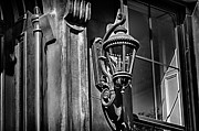 Val Black Russian Tourchin -  Brownstone Lamp in Black and White