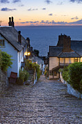 English Cottages Prints -  Clovelly Print by Sebastian Wasek
