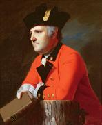 Uniformed Paintings -  Colonel John Montresor  by John Singleton Copley