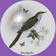 Aves Digital Art -  Cuckoo by Madeline  Allen - SmudgeArt