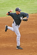 Spring Training Originals -  Derek Jeter by Tom Cheatham