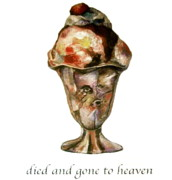 Sculptures Mixed Media Prints -  Died and gone to Heaven Print by Betty OHare