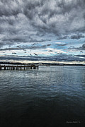 Storm Digital Art -  Dock in the bay by DMSprouse Art