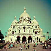 Sacre Coeur Art -  Dreamy Paris by Tatiana Parmeeva