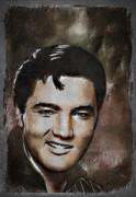 Elvis Print by Andrzej Szczerski