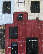 Eureka Springs Painting Prints -  Eureka Springs Arkansas #1 Print by Nancy Pace