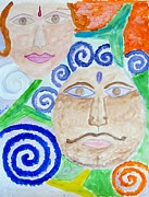 Expresion Paintings -  Faces by Sonali Gangane