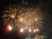 All -   Fire Works Show Stippled Paint Finally  Canada by Dawn Hay
