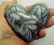 Carving Reliefs -  For the Love of Orcas by Liisa McInnis