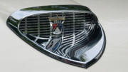 Transportation Glass Originals -  Ford Chrome 13124 by Guy Whiteley