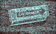 TONY GRIDER -  Gum on Brick Blue