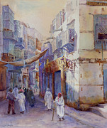 Arabia Prints -  Hurrying Home Print by Dorothy Boyer