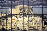 Building Reflections Prints -  I am MELTING Print by Joan Carroll