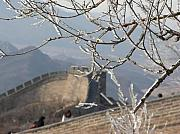 Architeture Prints -  Ice on the great wall Print by Giampaolo Piemontese