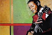 Jazz Art -  Jazz Guitarist by Yuriy  Shevchuk