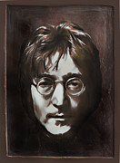 Singer Songwriter Digital Art -  John Lennon by Andrzej  Szczerski