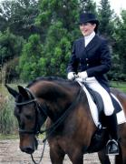 Dressage Photos -  Kathryn and her Lancelot by Terry Kirkland Cook